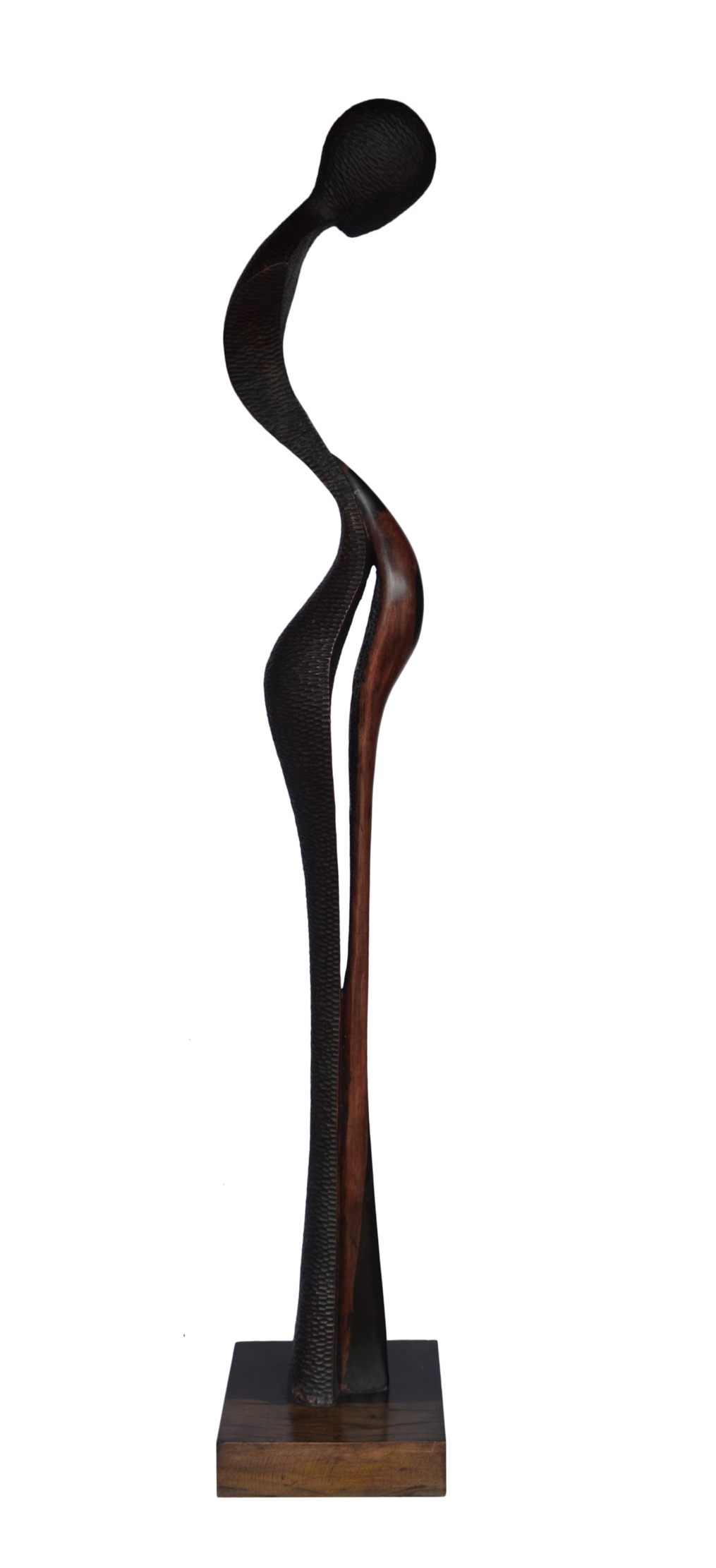 Admiration, 71 Inches, Ebony Wood, 2015 (2)