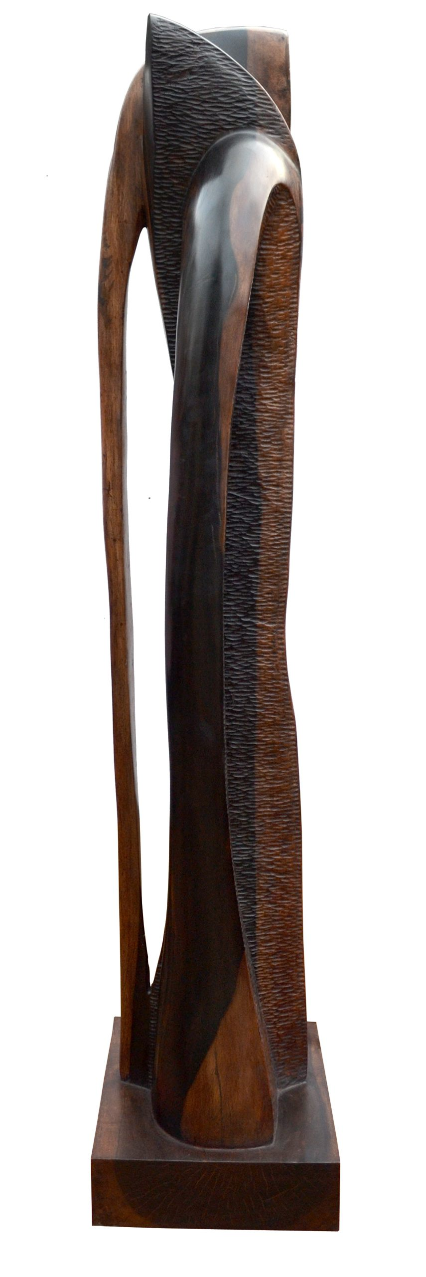 Intimate Embrace (57 Inches) Wood 2013 (3)