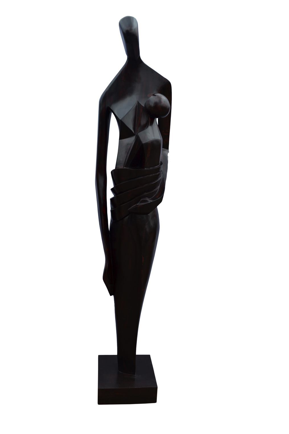 Symbaiosis (Wood) 2011-2014, Height + Base 79 Inches (1)