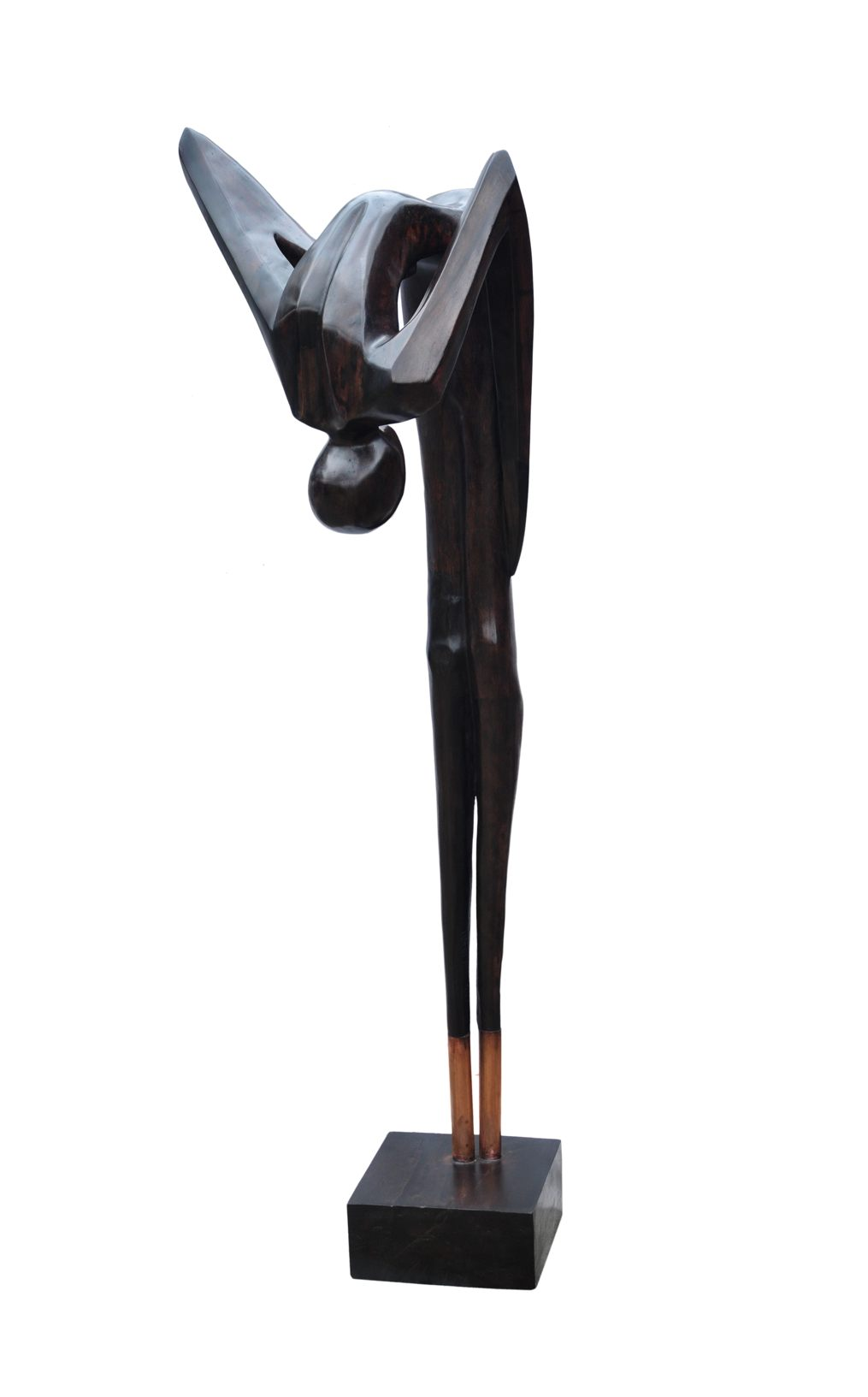 The Bow, 66 Inches, Wood, 2017 (2)