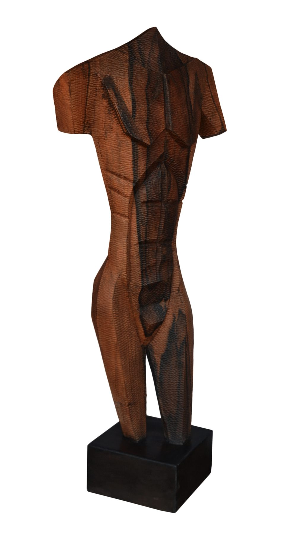 The Man, The Woman..., 54 Inches, Wood, 2015 (1)